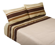 Load image into Gallery viewer, http://images.esellerpro.com/2278/I/140/696/manita-striped-duvet-quilt-cover-pillow-cases-set-brown.jpg