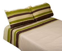 Load image into Gallery viewer, http://images.esellerpro.com/2278/I/140/696/manita-striped-duvet-quilt-cover-pillow-cases-set-green.jpg
