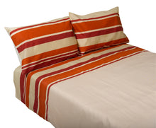 Load image into Gallery viewer, http://images.esellerpro.com/2278/I/140/696/manita-striped-duvet-quilt-cover-pillow-cases-set-tango.jpg