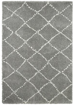 Load image into Gallery viewer, http://images.esellerpro.com/2278/I/117/479/royal-nomadic-shaggy-pile-diamond-rug-5413-grey-flat.jpg