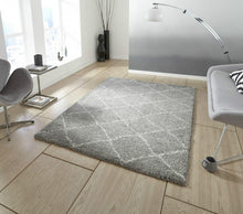 Load image into Gallery viewer, http://images.esellerpro.com/2278/I/117/479/royal-nomadic-shaggy-pile-diamond-rug-5413-grey.jpg