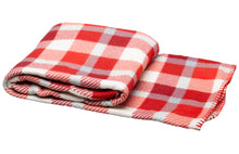 Load image into Gallery viewer, http://images.esellerpro.com/2278/I/750/07/soft-polar-fleece-checked-blanket-throw-red-check.jpg