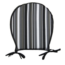 Load image into Gallery viewer, http://images.esellerpro.com/2278/I/149/879/striped-seat-pad-chair-cushion-round-black.jpg