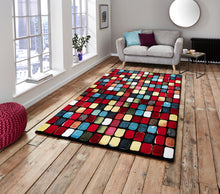 Load image into Gallery viewer, http://images.esellerpro.com/2278/I/136/026/sunrise-9057A-bright-tiles-design-rug-mat-room.jpg