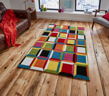 Load image into Gallery viewer, http://images.esellerpro.com/2278/I/136/026/sunrise-M381A-bright-3D-squares-effect-design-rug-mat-room.jpg