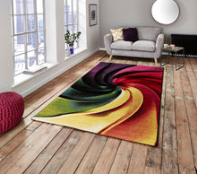 Load image into Gallery viewer, http://images.esellerpro.com/2278/I/136/026/sunrise-Y498A-bright-swirl-spiral-design-rug-mat-room.jpg