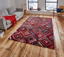 Load image into Gallery viewer, http://images.esellerpro.com/2278/I/136/026/sunrise-Y505A-bright-geometric-diamond-design-rug-mat-room.jpg