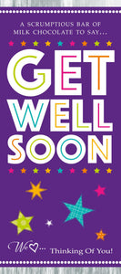 Get Well Chocolate Gift Bar