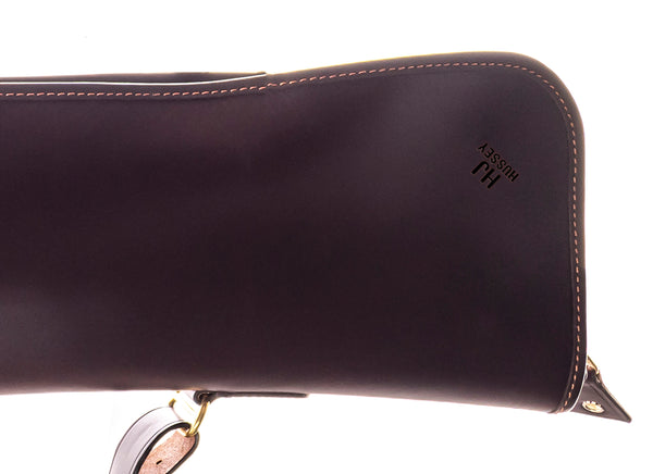 Leather London Gun Slip (Chocolate)