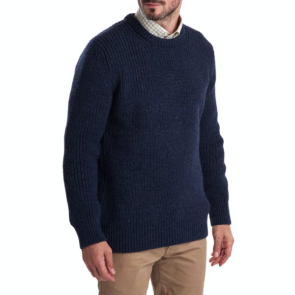 Tyne Crew Neck Sweatshirt (Navy)