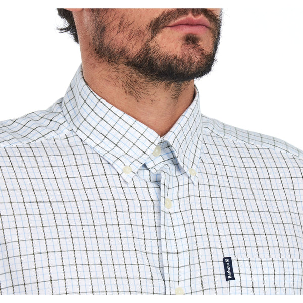 Barbour Eco 4 Tailored Shirt (White)