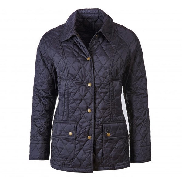 Summer Beadnell Quilted Jacket (Navy)