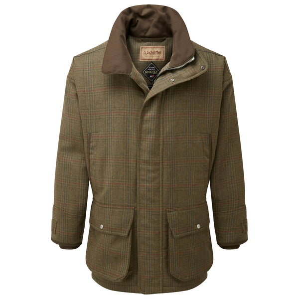 Ptarmigan Tweed Shooting Coat (Buckingham Tweed)