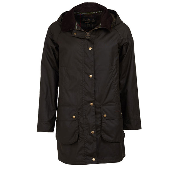 Canfield Wax Jacket (Olive)