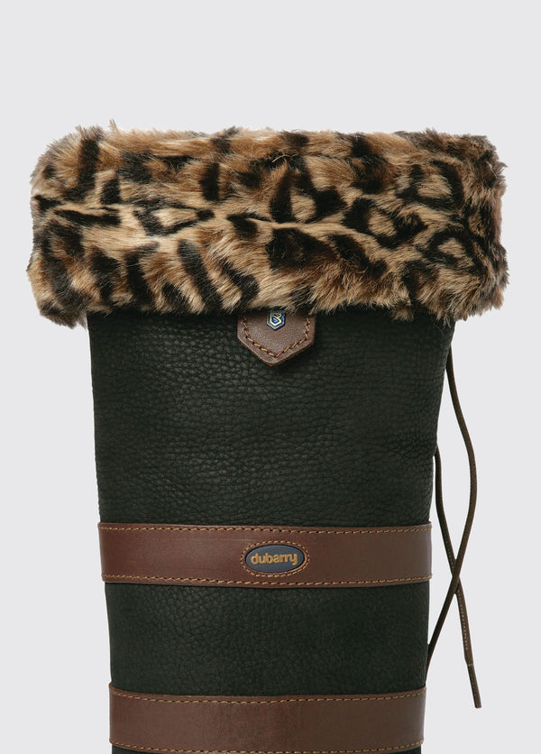 Dubarry Leopard Faux Fur Boot Liners