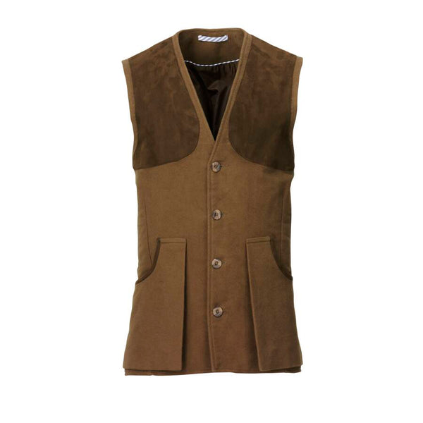 Mens Broadland Shooting Vest (Bronze)