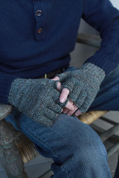 Fingerless Gloves (Green)