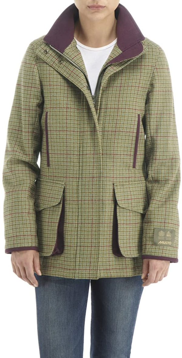 Stretch Tech Tweed Jacket (Keira)