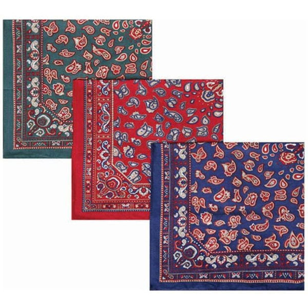 Barbour Paisley Handkerchiefs