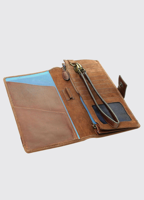 Milltown Walnut Travel Wallet