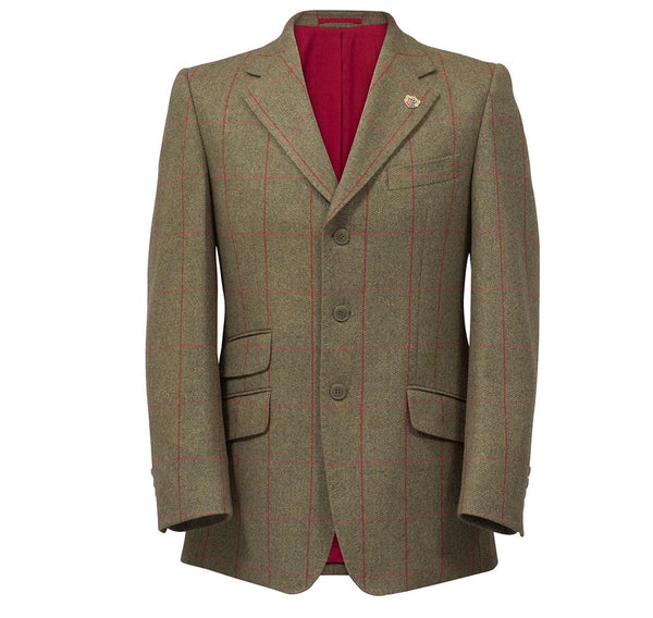alan paine tweed jacket mens