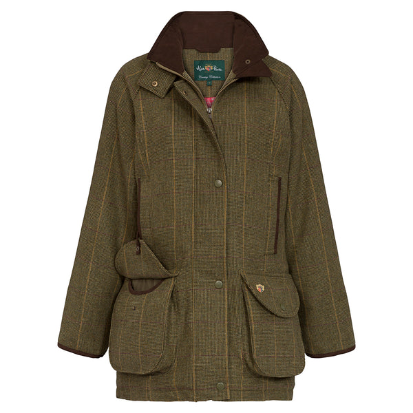 Alan Paine Ladies Tweed Shooting Jacket Combrook