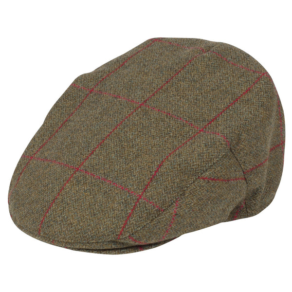 Alan Paine Mens Tweed Cap Combrook Sage