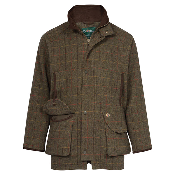 Alan Paine Mens Tweed Shooting Coat Combrook