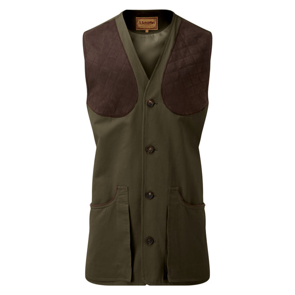 Schoffel All season shooting vest (Dk Olive)