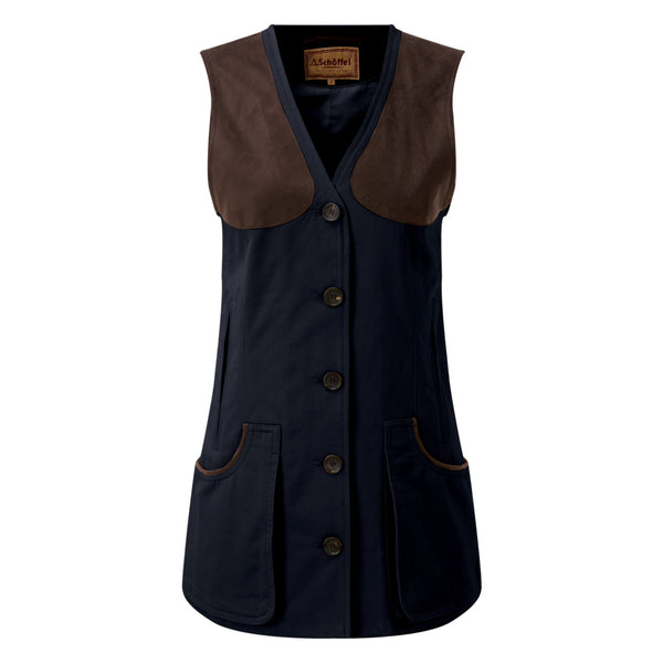 All season shooting vest (Navy)