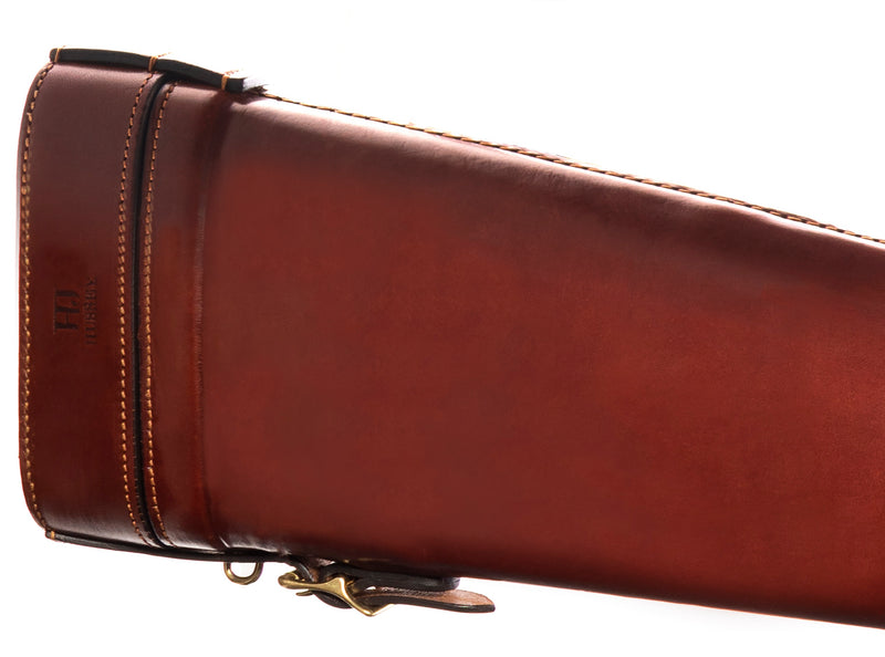 Boned Leather Gun Case (Honey)