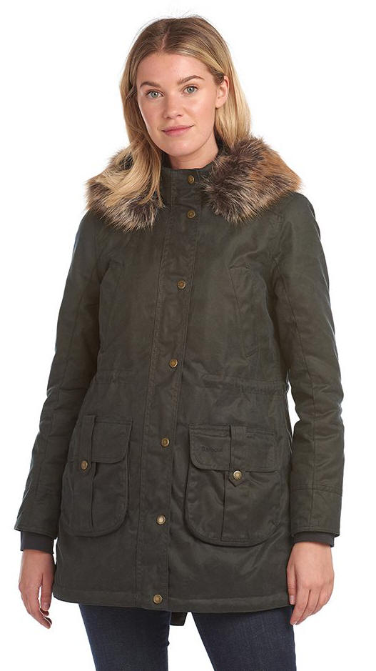 Barbour Homeswood Wax Jacket (Olive)