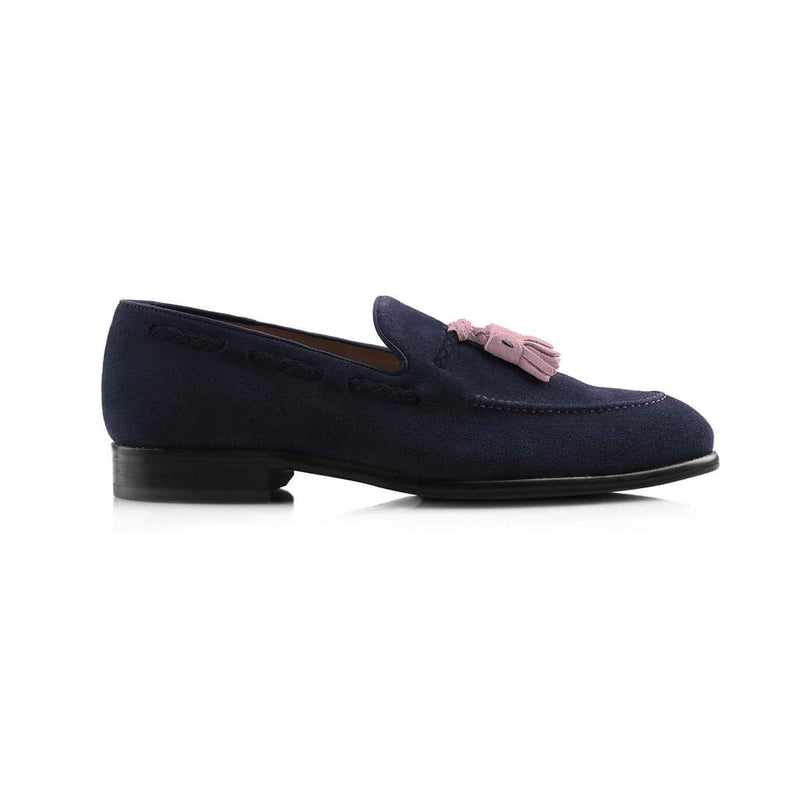 The Bedingfeld Suede Loafer (Navy)