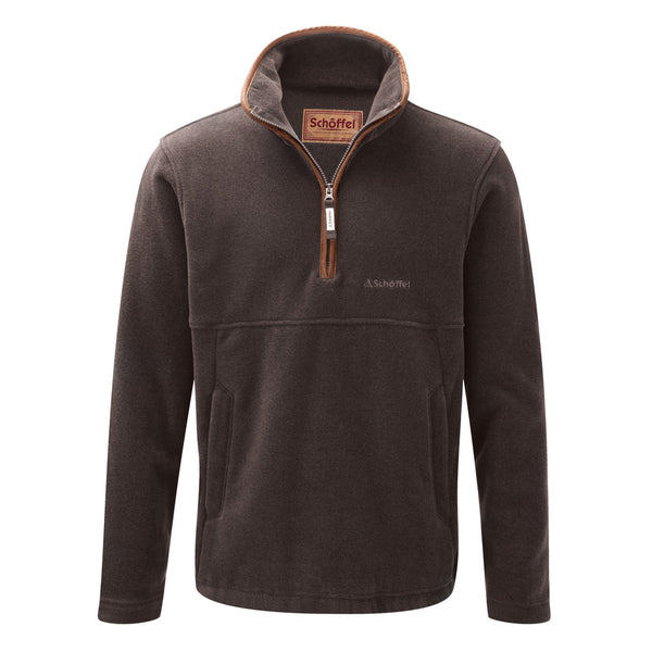 Berkeley 1/4 Zip Fleece (Mocha)