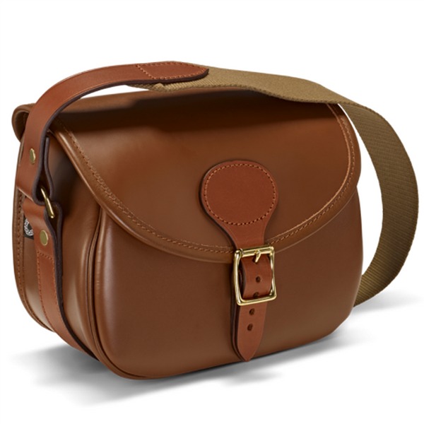 Byland Leather 150 shot cartridge bag (Tan)