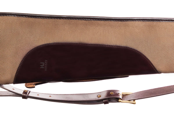 Canvas & Leather Gun Slip (Brown)