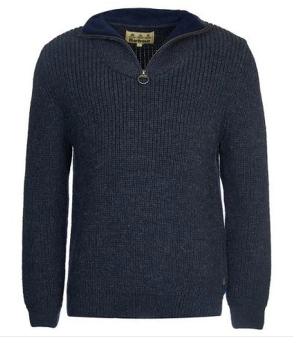 New Tyne Half Zip Jumper (Navy)