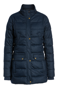 Barbour Goldfinch Quilted Jacket (Navy)