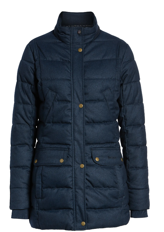Goldfinch Quilted Jacket (Navy)
