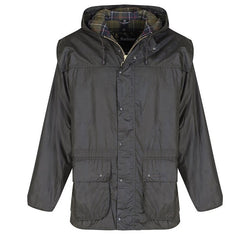 classic durham mens wax jacket