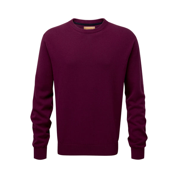 Cotton Cashmere Crew Neck Jumper (Fig)