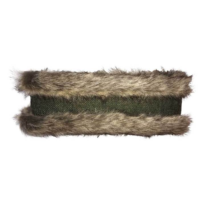 Head Warmer (Natural & Dark Green)