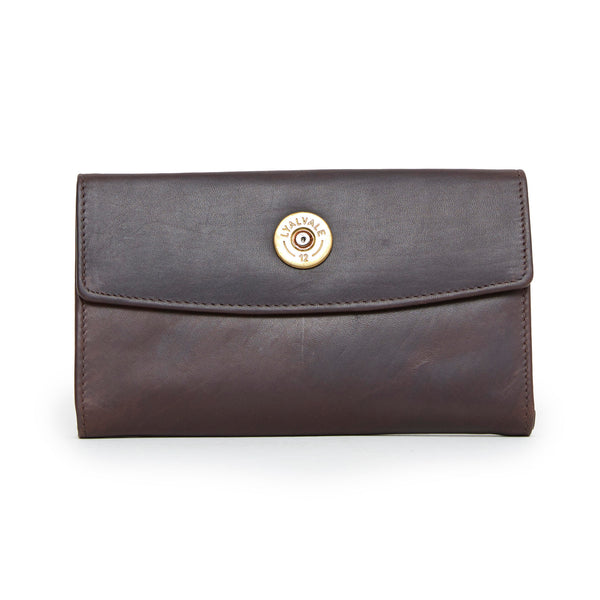 Hidcote Cartridge Purse (Brown)