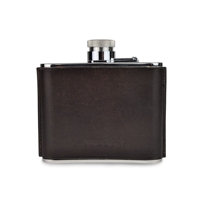 Hand Stitched Leather Flask