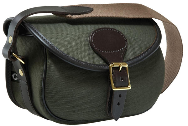 Croots Cartridge Bag (Rosedale Green Canvas)