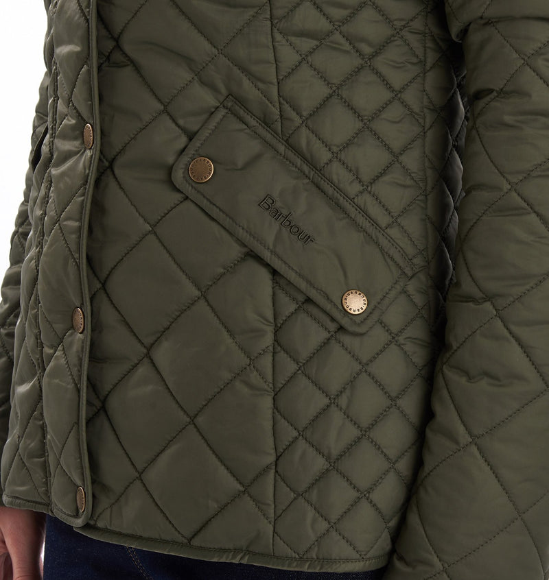 Barbour Exmoor Quilted Jacket (Olive)