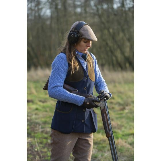 Lady Broadland Shooting Vest (Navy)