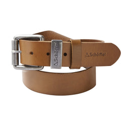Schoffel Mens Belt Tan Leather countryside clothing