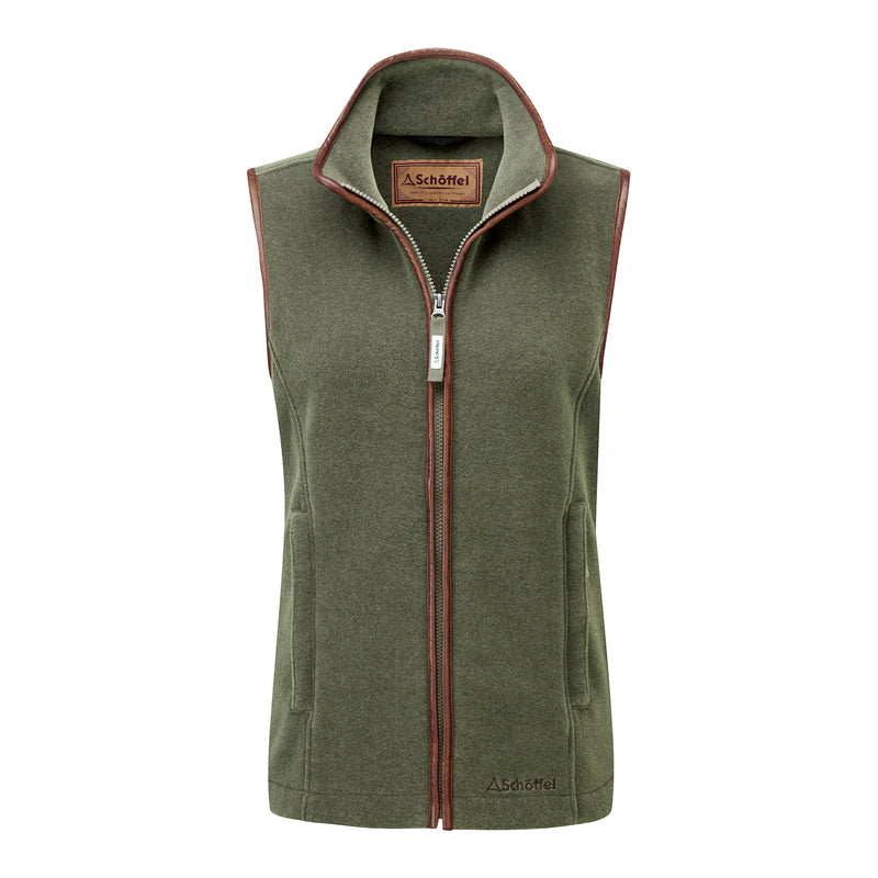 Lyndon Fleece Gilet (Fern)