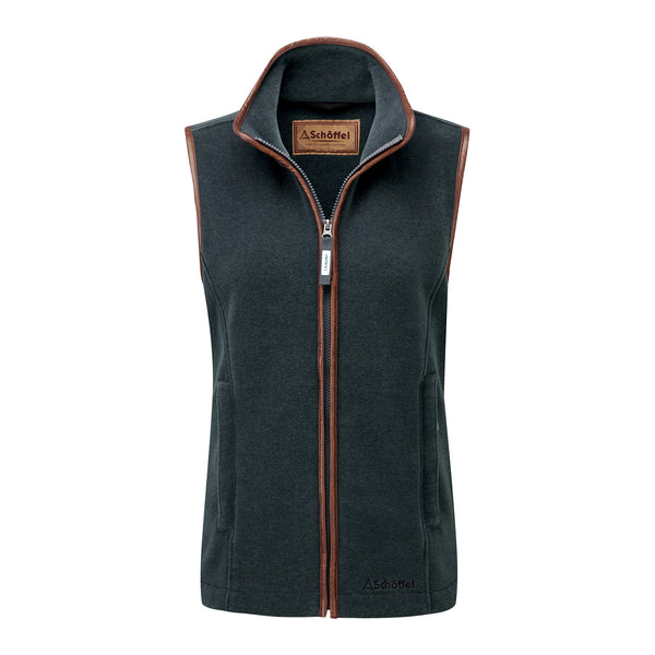 Schoffel Ladies Gilet Lyndon country clothing green